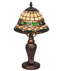 """15""""H Tiffany Roman Mini Lamp"""