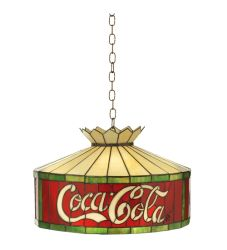 """16""""W Coca-Cola Pendant"""