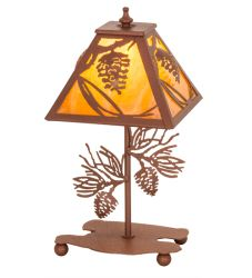 """15""""H Whispering Pines Accent Lamp"""