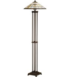 "63""H Arrowhead Mission Floor Lamp"
