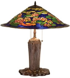 """25""""H Tiffany Pond Lily Table Lamp"""