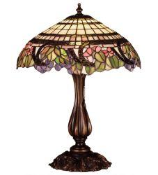 "19""H Handel Grapevine Table Lamp"