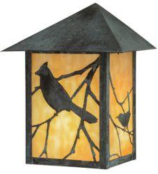 """9""""W Seneca Song Bird Wall Sconce"""