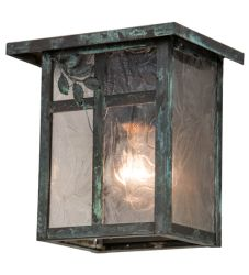 """8""""W Hyde Park Sprig Wall Sconce"""