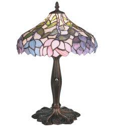 "17""H Wisteria Accent Lamp"