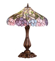 "20""H Wisteria Table Lamp"