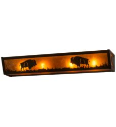 "30""W Buffalo Vanity Light"