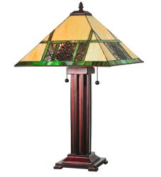 "24""H Pinecone Ridge Table Lamp"