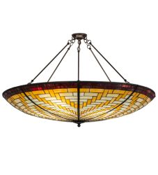 "48""W Basket Weave Inverted Pendant"