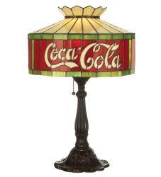 "24.5""H Coca-Cola Table Lamp"