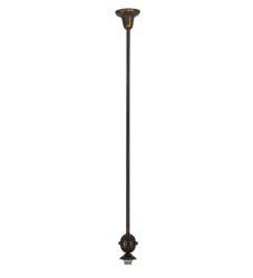 """5""""W Revival Vintage Copper 1 Lt Deco Ball Pendant Hardware"""