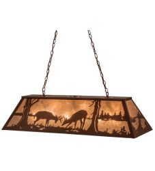 "48""L Battling Bucks Oblong Pendant"