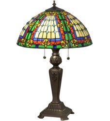 """24.5""""H Fleur-De-Lis Table Lamp"""