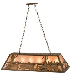 "48""L Train Oblong Pendant"
