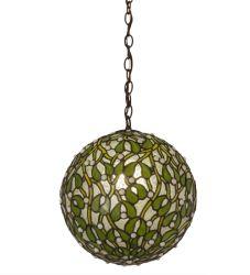 "12""W Mistletoe Ball Pendant"
