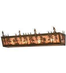 "30""W Tall Pines Vanity Light"
