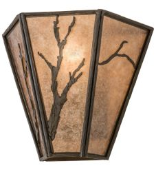 """14""""W Branches Wall Sconce"""