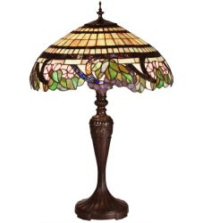 "28""H Handel Grapevine Table Lamp"