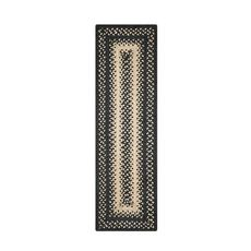 "Homespice Decor 8"" x 28"" Small Table Runner Rect. Manchester Jute Braided Accessories"