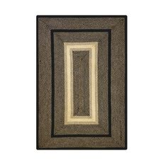 """Homespice Decor 27"""" x 45"""" Rect. Manchester Jute Braided Rug"""