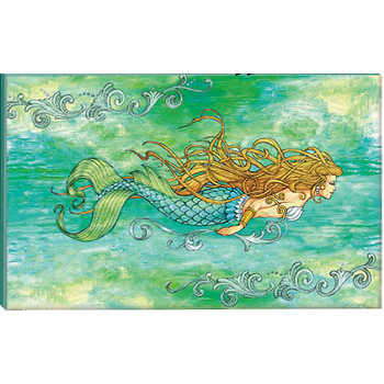 Mermaid Canvas Art Print