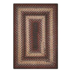 """Homespice Decor 27"""" x 45"""" Rect. Montgomery Ultra Durable Braided Rug"""