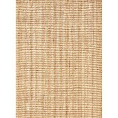Naturals Solid Pattern Ivory/Taupe Jute Area Rug (9X12)