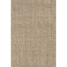 Naturals Solid Pattern Taupe/Gray Sisal Area Rug (9X12)