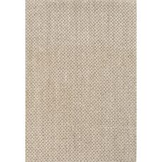 Naturals Solid Pattern Taupe/Ivory Sisal Area Rug (9x12)