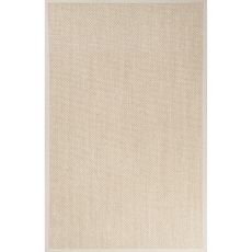 Naturals Solid Pattern Natural/Ivory Sisal Area Rug (9X12)