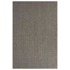 Naturals Geometric/Solid Pattern Gray Sisal Area Rug (9X12)