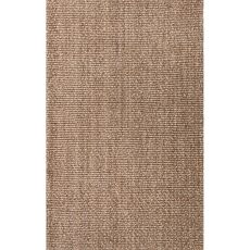 Solids & Heathers Pattern Jute Naturals Tobago Area Rug