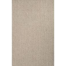Naturals Tribal Pattern Taupe/Tan Sisal Area Rug (9X12)