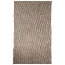 Naturals Solid Pattern Natural Jute Area Rug (8X10)