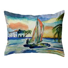 Catamarand Large Noncorded Pillow 16x20