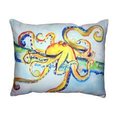 Crazy Octopus No Cord Pillow