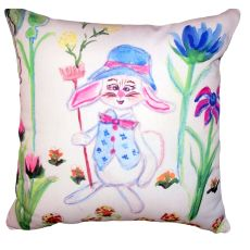 Mrs. Farmer No Cord Pillow