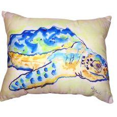 Loggerhead Turtle No Cord Pillow