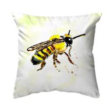Bee No Cord Pillow 18x18