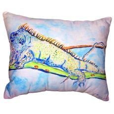 Iguana No Cord Pillow