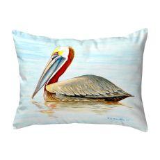 Summer Pelican No Cord Pillow 16X20