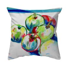 Green Apples No Cord Pillow 18X18