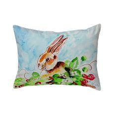 Jack Rabbit Left No Cord Pillow 16X20