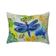 Dragonfly'S Garden No Cord Pillow 16X20