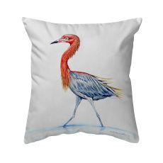 Reddish Egret No Cord Pillow 16X20