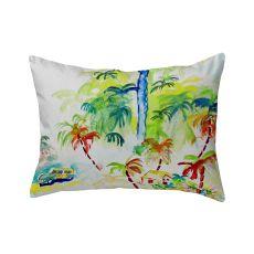 Colorful Palms No Cord Pillow 16X20
