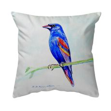 Blue Grosebeak No Cord Pillow 16X20