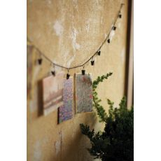 Chain Garland With Twelve Clips Set of 4