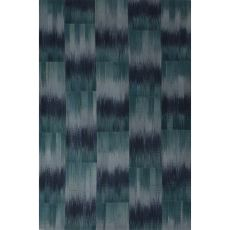 Flatweave Tribal Pattern Blue Wool Area Rug (8X10)