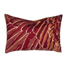 """Modern/Contemporary Pattern Red Cotton Down Fill Pillow ( 16""""X24"""")"""
